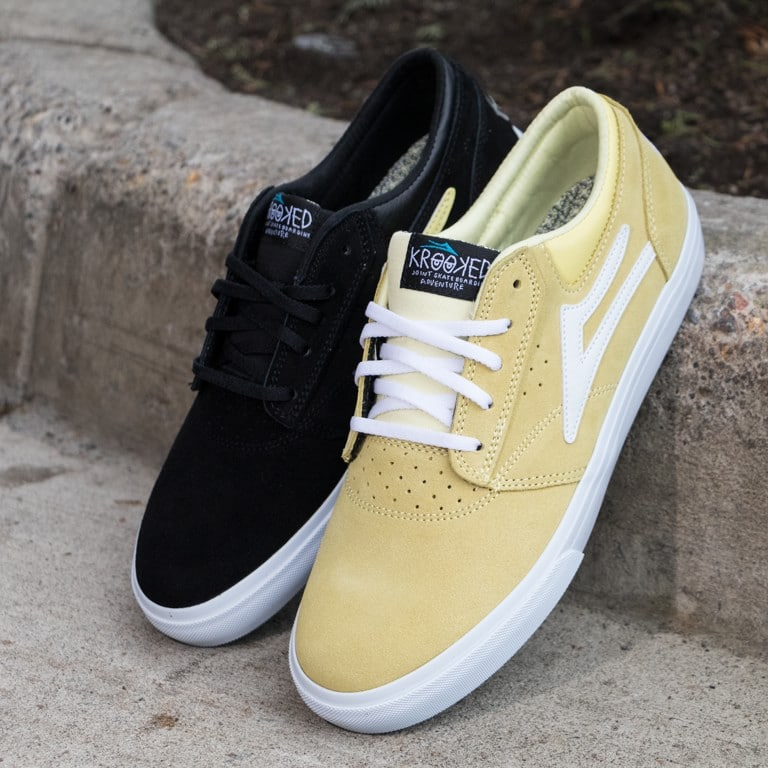 Lakai x Krooked Griffin Skate Shoes for