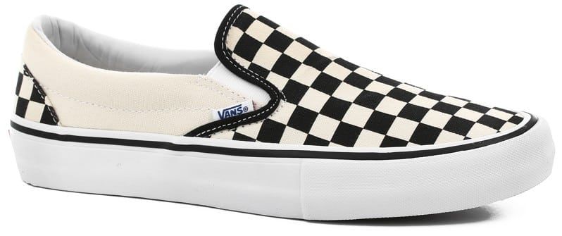 Vans Slip-On Pro Shoes - (checkerboard) black/white - view large