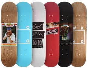 WKND Skateboards - New Decks & Apparel
