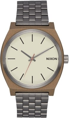 Nixon Time Teller Watch - bronze gunmetal - view large