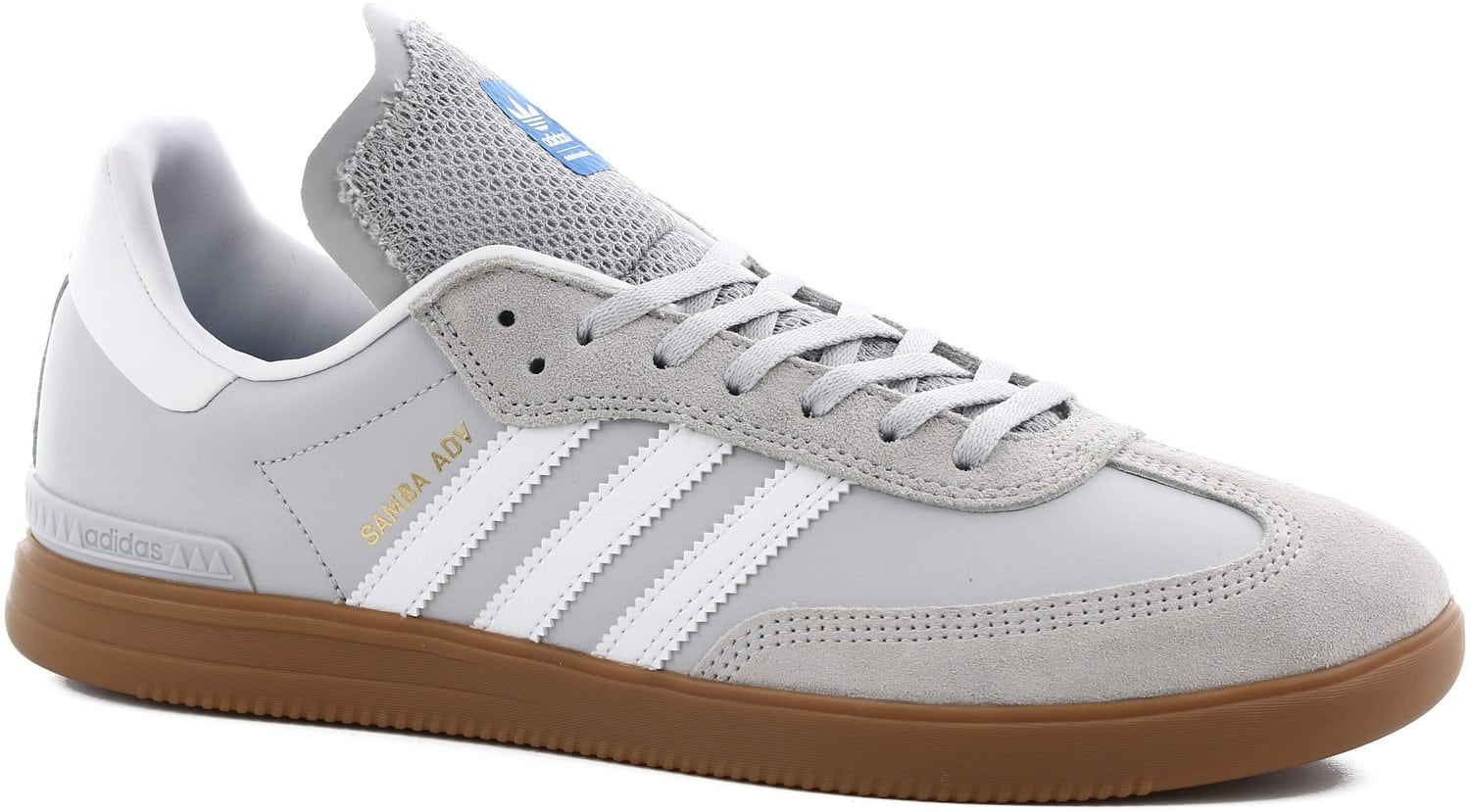 adidas samba adv skate shoes lgh solid grey footwear. Black Bedroom Furniture Sets. Home Design Ideas