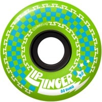 Krooked Zip Zinger 80HD Skateboard Wheels - green (80d)