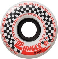 Krooked Zip Zinger 80HD Skateboard Wheels - white (80d)