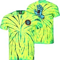 Santa Cruz Screaming Hand T-Shirt - wild spider/speedwheel
