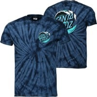 Santa Cruz Wave Dot T-Shirt - spider navy