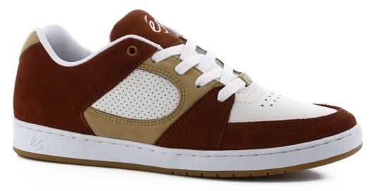 eS Accel Slim Skate Shoes - brown/tan/white - view large