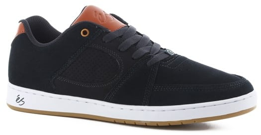 eS Accel Slim Skate Shoes - navy/brown/white - view large