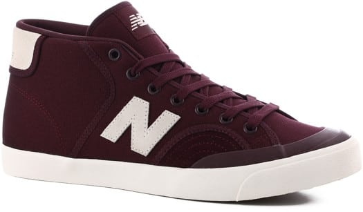 New Balance Pro Court 213 Mid Skate Shoes - cordovan/cloud white - view large