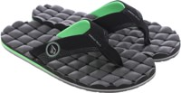 Volcom Recliner Sandals - poison green