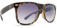 Dot Dash Plimsoul Sunglasses - tort gloss/blue chrome lens