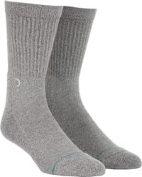 Stance Icon Sock - grey heather