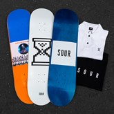 SOUR SKATEBOARDS - Welcome to the Shelves.
