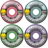 Spitfire Formula Four Classic Skateboard Wheels - bloom mash-up (99d)
