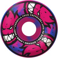 Spitfire Formula Four Classic Skateboard Wheels - blue/pink swirl afterburners (99d)
