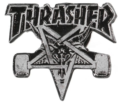 Thrasher Skate Goat Lapel Pin - view large