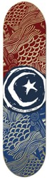 Foundation Star & Moon 8.25 Skateboard Deck - waves