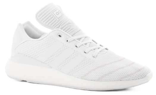 Adidas Busenitz Pure Boost Prime Knit Shoes - footwear white/footwear white/footwear white - view large