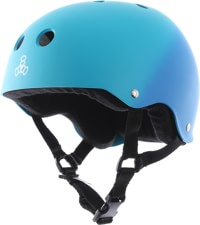 Triple Eight Brainsaver Multi-Impact Sweatsaver Skate Helmet - blue fade rubber