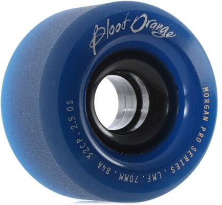 Blood Orange Morgan Pro Longboard Wheels - 70 midnight navy (84a) - view large