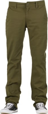 Brixton Reserve Chino Pants - olive - view large