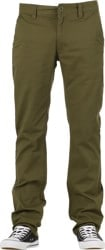 Brixton Reserve Chino Pants - olive