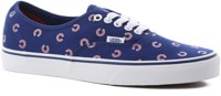 Vans Authentic Skate Shoes - (mlb) chicago/cubs/blue