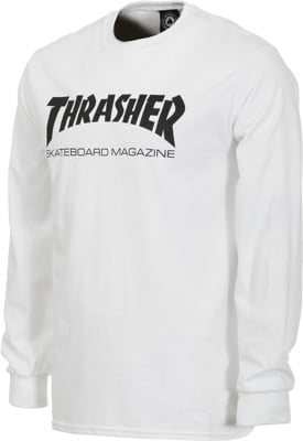 Thrasher Skate Mag L/S T-Shirt - white - view large