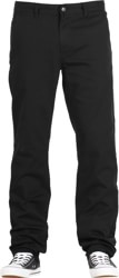 HUF Fulton Chino Pants - black