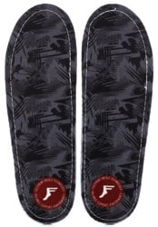 Footprint Gamechangers Custom Orthotics 6mm Insoles - black camo