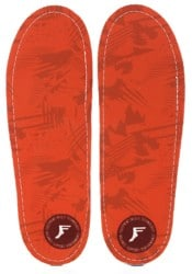 Footprint Kingfoam Orthotics Insoles - orange camo