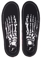 Footprint PU Gamechangers Lite Custom Orthotics 6mm Insoles - skeleton black
