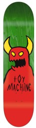 Toy Machine Sketchy Monster 9.0 Skateboard Deck - green