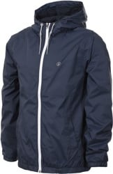 Volcom Ermont Windbreaker - dark navy