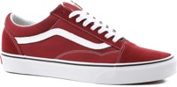 Vans Old Skool Skate Shoes - madder brown/true white