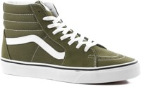 Vans Sk8-Hi Skate Shoes - winter moss/true white