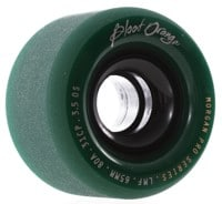 Blood Orange Morgan Pro Longboard Wheels - 65 midnight forest green (80a)