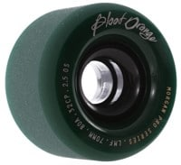Blood Orange Morgan Pro Longboard Wheels - 70 midnight forest green (80a)