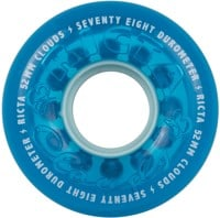 Ricta Cloud Skateboard Wheels - crystal blue (78a)