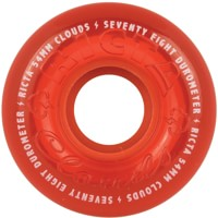 Ricta Cloud Skateboard Wheels - crystal red (78a)