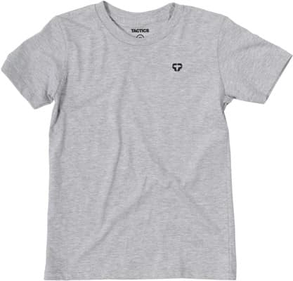 Tactics Kids Icon T-Shirt - heather grey - view large