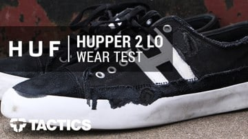 HUF Hupper 2 Skate Shoes Wear Test Review