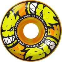 Spitfire Formula Four Classic Skateboard Wheels - orange/yellow afterburners (99d)