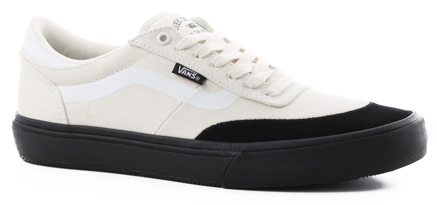 Vans Gilbert Crockett Pro 2 Skate Shoes White Black