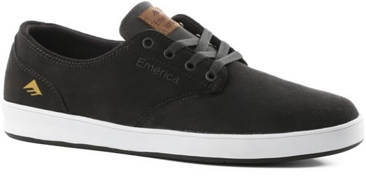 Emerica Romero Laced Skate Shoes - dark grey - view large