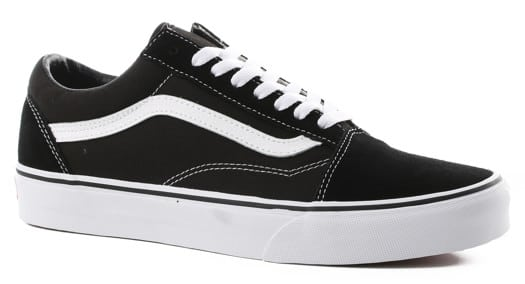 Vans Women's Old Skool Shoes - black/white - view large