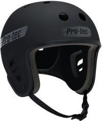 ProTec Full Cut Skate Helmet - rubber black/grey logo