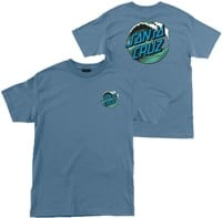 Santa Cruz Youth Wave Dot S/S T-Shirt - slate