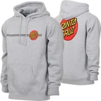 Santa Cruz Classic Dot Pullover Hoodie - grey heather