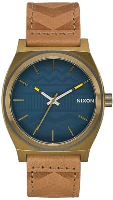 Nixon Time Teller Watch - brass/navy/hickory - view large