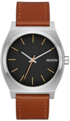 Nixon Time Teller Watch - silver/black/brown